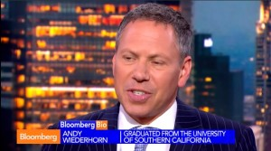 Andy Wiederhorn on Bloomberg TV