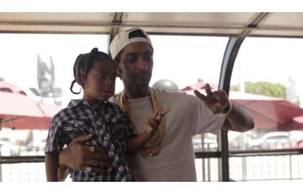 Nipsey Hussle Helps Celebrate our Crenshaw Fatburger Grand Opening