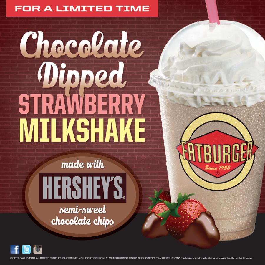 Valentines Day Milkshake