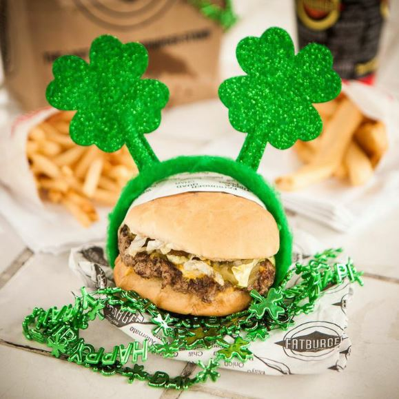 St Patricks Day fatburger